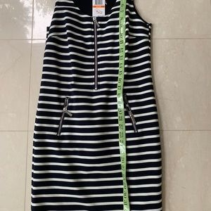 Michael Kors black jumper with white stripes